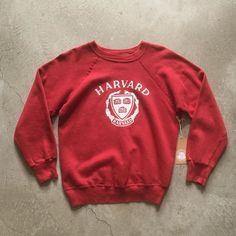 Dutch Sweatshirt 80s Windmill Sweatshirt Red Retro Sweatshirt Cropped Slouchy Pullover Tolsma Family Reunion Shirt Vintage Small Medium