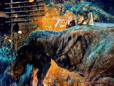 "Skinny Devil Lord 😈🍷 on Instagram: ""#jurassicworld #4k #rexy #indominusrex #raptorblue #bluetheraptor"" Jurassic Park Film, Jurassic Park World, Indominus Rex, Tyrannosaurus Rex, Jurassic World Fallen Kingdom, Falling Kingdoms, Main Street, Devil, Fiction"
