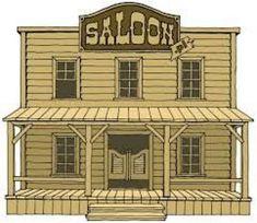 Risultati immagini per saloon Western Saloon, Old West Saloon, Play Houses, Bird Houses, Saloon Decor, Westerns, Old Western Towns, Cafe Door, Western Bedroom Decor