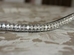 Bling Browbands, Specialist in bespoke, customised, high quality diamanté bling browbands. Handmade using English leather and high quality diamantés.