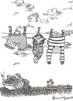 el arte gatuno y único, de la srta. Romina Leske Valentic.-