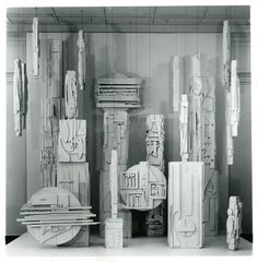 America Dawn, 1959–67, Louise Nevelson