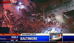 Baltimore Curfew Goes Into Effect – Police Attacked With Bricks Posted by Jim Hoft on Tuesday, April 28, 2015, 9:14 PM    Read more: http://www.thegatewaypundit.com/2015/04/baltimore-curfew-goes-into-effect-police-attacked-with-bricks/#ixzz3Yhp9m0tD