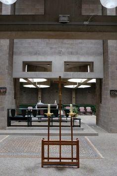 Roman Catholic Church, The Hague, Netherlands, 1964-69 Aldo Van Eyck