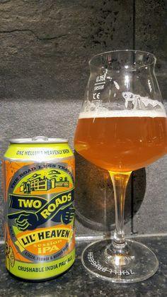 Two Roads Lil Heaven Session IPA. Watch the video beer review here www.youtube.com/realaleguide #CraftBeer #RealAle #Ale #Beer #BeerPorn #TwoRoadsBrewingCompany #TwoRoadsBrewing #TwoRoads #TwoRoadsLilHeavenSessionIPA #TwoRoadsLilHeaven #LilHeavenSessionIPA #LilHeaven #AmericanCraftBeer #AmericanBeer I Like Beer, All Beer, Pale Ale Beers, Cheap Beer, Easy Vegetables To Grow, American Beer, Beer Brands, How To Make Beer, American Crafts
