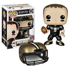 NFL Pop! Vinyl Figure Drew Brees [New Orleans Saints]