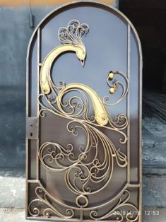 (21) Одноклассники Wrought Iron Decor, Wrought Iron Gates, Steel Gate, Steel Doors, Metal Tools, Metal Art, Glass Design, Door Design, Iron Furniture