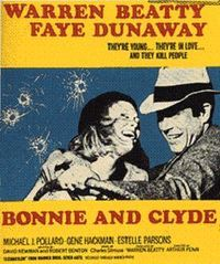 Image result for bonnie and clyde movie poster