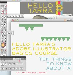 Ten Things You Should Know About Adobe Illustrator
