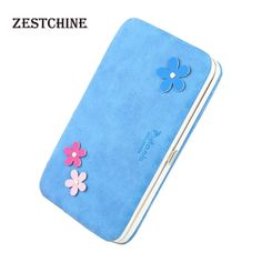 9.20$  Watch now - http://aliyyj.shopchina.info/go.php?t=32648576915 - Big capacity women's wallet casual money phone bag carteira fashion floral decor double-folded wallets clutch women's purse  #magazineonline