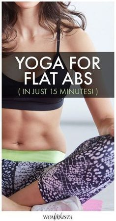 This yoga sequence will help tighten your tummy- no crunches required! | Posted By: AdvancedWeightLossTips.com