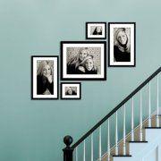 Wonderful Stairway Gallery Wall Idea 13