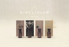 EIBEL & GLOW [Brand indentity] by Oriol Gil, via Behance