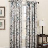 Found it at Wayfair - Auburn Room Darkening Floral Print Single Curtain Panel
