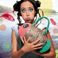 Animal Bag, Unique Purses, Fishing Humor, Purses And Bags, Shoulder Bag, Handbags, Nyx, My Style, Funny