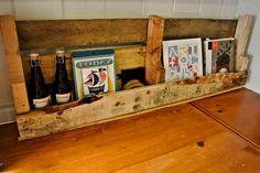 Rustic Wood Shelf.