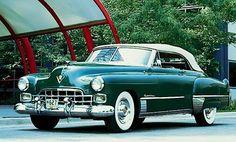 1948 Cadillac Series 62 Convertible.