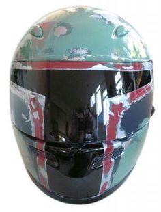 Boba Fett Star Wars Motorcycle Helmet | #ridesafe #protectyourpumpkin