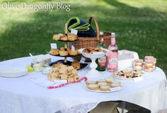 The Olive Dragonfly: Picnic - Crustless Quiches
