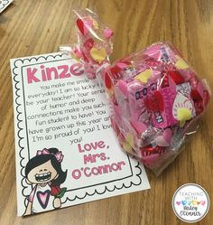 15bccbb9e50ad Valentine s Day Student Gifts from Teacher Teacher Gifts From Class