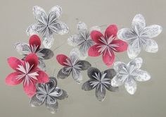 Tiny Dancer Origami Flower Mobile - Limited Edition