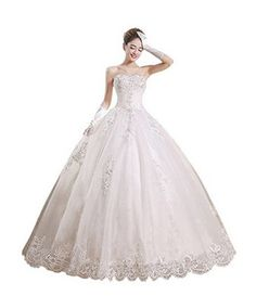 Partiss Women's Strapless Tulle Wedding Dress View our amazing selection of wedding  dresses. Our wedding dresses are unique, beautiful and affordable. ...