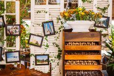 Décor de um casamento inspirado nas várias viagens do casal. Toques orientais e exóticos.  Foto: Love Shake #wedding #decor #inspiration #photos #board