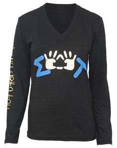 Sigma Delta Tau shirt-- would be really cute for a PCAA event!