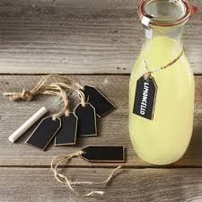William Sonoma wooden chalkboard tags