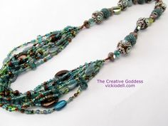 Boho Beaded Necklace - Video Tutorial
