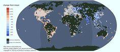 Les pays où Internet dort