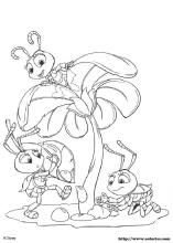 19 A Bugs Life Printable Coloring Pages For Kids Find On Book Thousands Of