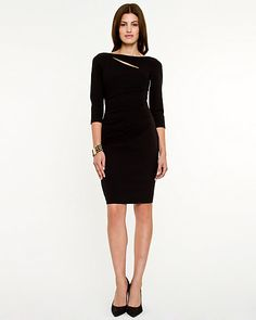 Le Château: Knit Fitted Dress