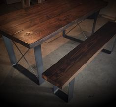 Westminster Dining Table by SalvageProject on Etsy Dinning Room Tables, Entryway Tables, Smart Design, Westminster, Furniture Decor, House, Etsy, Vintage, Ideas