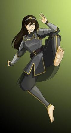 the mother of our current BAMF Chief Lin, the BAMFier Toph Bei Fong. Avatar Airbender, Avatar Aang, Avatar Funny, Team Avatar, Character Inspiration, Character Art, Avatar World, Avatar Series, Iroh