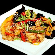 When looking to cook something tasty and fast we usually end up turning to the Asian cuisine. Heres the perfect recipe to try. It has chicken and lots of veggies like wood ear mushrooms celery zucchini and bell pepper. The best part about it is that its ready in only half an hour and its a true feast!  --------------------- Follow us on:  Facebook: http://ift.tt/2bQPFq0 Instagram: http://ift.tt/2c5L3JK  Twitter: https://twitter.com/sodlco  Pinterest: http://ift.tt/2bQPqLQ