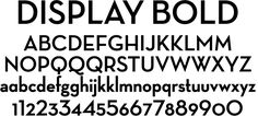 Neutraface, House Industries, Typeface