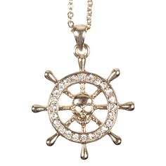 Fab.com   Sailors Wheel Necklace