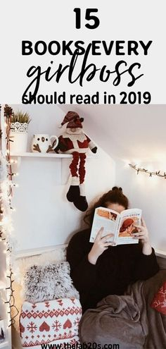 15 Books Every GirlBoss Should Read in 2019 15 Amazing Books Girlbosses should read! Books for career woman