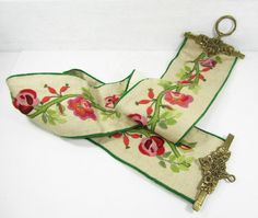 Vintage Bell Pull Embroidery