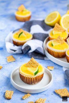 Lemon Curd, Mini Cupcakes, Cheesecake, Cooking Recipes, Baking, Gastronomia, Cheesecakes, Chef Recipes, Bakken