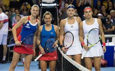 #Doubles #FedCup Fed Cup, Tennis Players, Champs