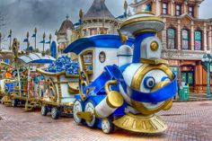 Character Express at Disneyland Paris