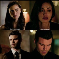 Elijah and Hayley. I love them togeother but i think Hayley sometimes is really selfish...
