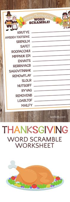 download and print this fun thanksgiving worksheet to keep the kids entertained on thanksgiving thanksgiving worksheetskids