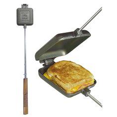 ROME Square Pie Iron - Pie Irons - Dutch Ovens en ander gietijzer - QVIST - Qvist Outdoor Cooking
