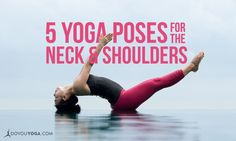 These yoga poses work the thoracic spine directly as well as they open the chest. Try them to ease your sore, tight shoulders and neck.