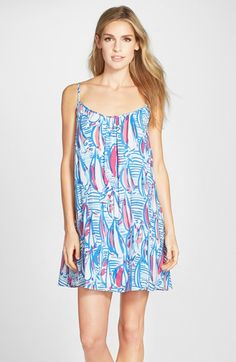 Lilly+Pulitzer Daphne Print Trapeze Dress