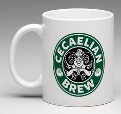Starbucks Disney Inspired Ursula The Little Mermaid Villain Coffee Mug Tea Cup