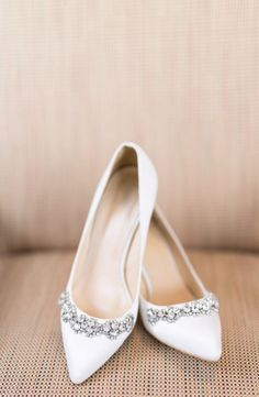 Beautiful Wedding Shoes Inspiration. Wedding WhiteWhite Flat ...